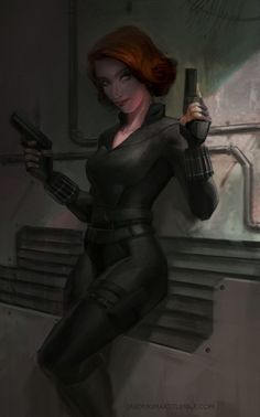 Black Widow jasonkimart  on DeviantART.com ★