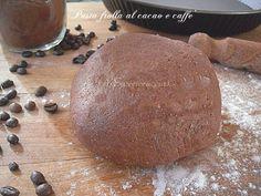 Pasta frolla al cacao e caffè ricetta base