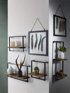 18 wall shelves ideas for your room 00003 Decor, Room, Interior, Cheap Home Decor, Home Decor, Room Inspiration, House Interior, Room Decor Bedroom, Living Room Inspiration