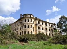 Rome, Italy ... Love the magnificent, although crumbling, architecture.  It is an abandoned orphanage.