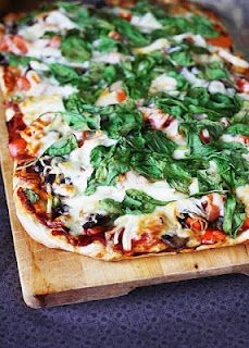 Basil Pizza- Fat Tuesday!