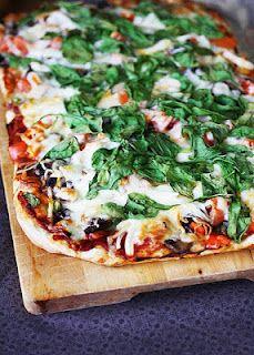 Basil Pizza- Fat Tuesday!