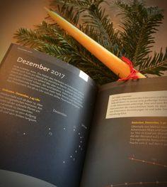 Einblick in unseren #Sternkalender 2017/2018 #Dezember