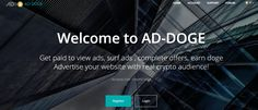Bitcoin Faucet, Crypto Bitcoin, Advertising, Ads, Doge, Blockchain, Cryptocurrency, Giveaway, Surfing