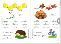 """""""Sílabas inversas"""" (Cuadernillo de Lectura) Ideas, Teaching Resources, Reading Books, Reading Comprehension, 1st Grades, Notebooks, Learning, Thoughts"""