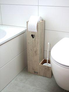 Toilettenpapierhalter HEART PLUS Klopapierhalter Von Holzmann