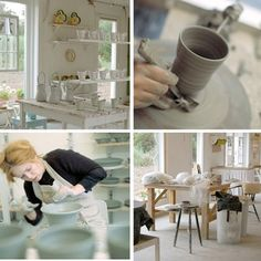 birch & lily: Pottery studio inspiration from Mettes in Denmark