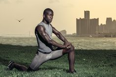 Gaoussou // Fitness // Detroit #fitness #skyline #detroit #sport #lifestyle #commercial #male #model