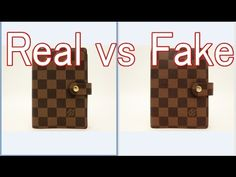 9bd1b843d4cc Real vs Fake Louis Vuitton Damier Agenda fonctionnel PM Diary cover R20700  LV
