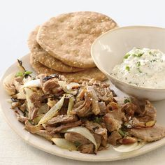 Pork Souvlaki with Tzatziki | Food & Wine
