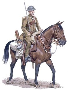 Trooper, Lord Strathcona's Horse (Royal Canadians), pin by Paolo Marzioli Ww1 Soldiers, Canadian Soldiers, Canadian Army, British Army Uniform, British Uniforms, British Soldier, English Army, Ww1 Art, Military Art