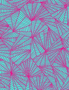 Hand Drawn and Digital Line Pattern Print by Sarah Bagshaw. Prints via society6. [Please keep artwork credit and original link if reusing or repinning. Thanks!] Artist's site: http://www.sarahbagshaw.com/home/4585061946
