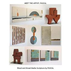 PASCAL   Originally from France, Pascal is an artist and sculptor currently living in Santa Fe, New Mexico. You are invited to view samples of his wood and metal sculptures. Included are wall pieces and outdoor installations.   Please inquire what  gallery represents Pascal for a listing for purchasing possibilities.