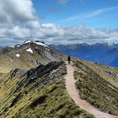 New Zealand's Kepler Track in Fiordland National Park