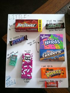 The words would need some rearranging, but what a great idea for a gift to mail to my nephew!