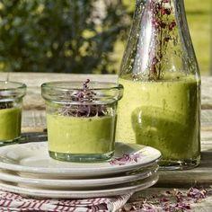 Gazpacho de calabacín y aguacate - TELVA.COM