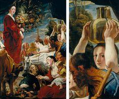 Ofrenda a Ceres, hacia 1619, Jacob Jordaens, Madrid, Museo del Prado. #ceres