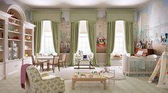 nursery for a prince or princess