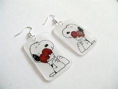 Kedy kreatív termékek: Snoopy fülbevaló