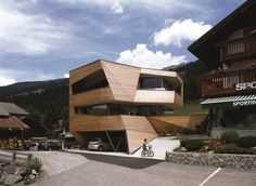 Adapted to a Perfect Landscape: Cube House in the Dolomite Mountains - http://freshome.com/2013/08/14/adapted-to-a-perfect-landscape-the-cube-house-in-the-dolomite-mountains/