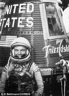 John Glenn, 1962. The former test pilot who sat on top of thousands of pound of rocket fuel and hoped for the best. Guts. Seven years later we were on the Moon.