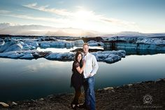 couples portraits Jökulsárlón