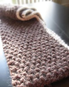 Quick 1-ball Double Looped Scarves