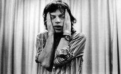 Mick Jagger. basically how i feel everyday
