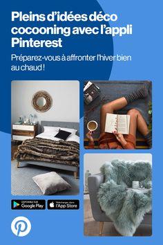 Pleins d'idées déco pour affronter l'hiver. Téléchargez l'appli Pinterest pour les découvrir.