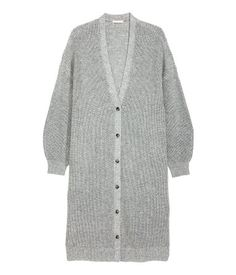 H&M H&M+ Chunky-knit Cardigan - Gray melange - Ladies - ShopStyle Plus Size Womens Clothing, Plus Size Outfits, Trendy Outfits, Clothes For Women, Designer Trench Coats, Chunky Knit Cardigan, Long Cardigan, Henley Shirts, Mens Outfitters