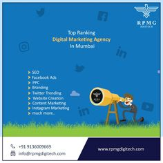 So, if you want digital growth for your brand or company or organization,  Visit us here: www.rpmgdigitech.com  #DigitalMarketing #Branding #SEO #SMO #RPMGDigitech