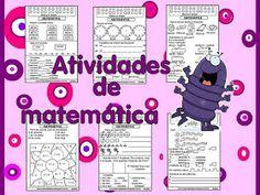 Matemática Words, Nova, Pasta, Math Activities, Teaching, Geography, Math Notebooks, Horse, Pasta Recipes