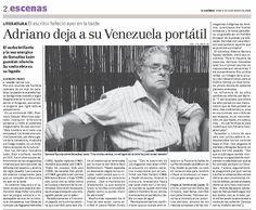 Publicado el 13 de enero de 2008, luego de la muerte de Adriano Gonzalez León.
