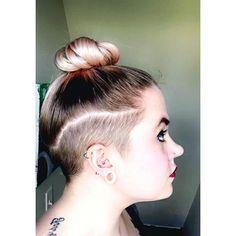 #shavedsides #undercutgirl #undercut #360undercut