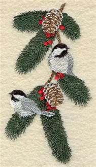 Machine Embroidery Designs at Embroidery Library! - Winter Animals & Birds