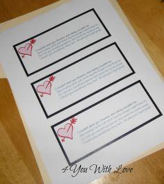4 You With Love: Cupid Poop + Free Printable