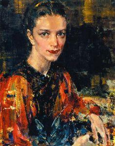 "Фешин, Николай Иванович » Ия Фешина (Кон.1930-х)- Nikolaj Feshin "" Ija Feshina"""