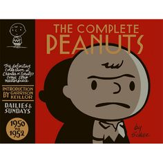 The Complete Peanuts: Volume One - 1950 to 1952 by Charles M. Schulz Introduction by Garrison Keillor Peanuts, the most popular newspaper comic strip of all time, is now being collected, in its. Free Books, Good Books, Books To Read, My Books, Charlie Brown, The Script, Snoopy, Die Peanuts, Reading