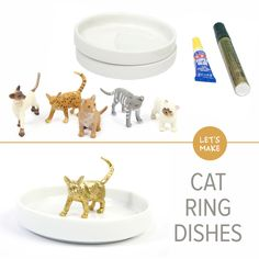 Cat Ring Dishes   DIY   Darby Smart