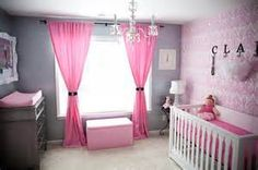 glamourous baby girl nurseries - Bing Images