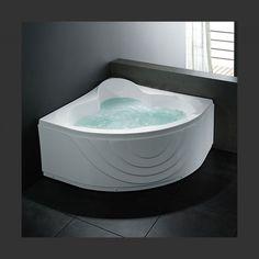 KAMPANJE VikingBad A107B Badekar 130x130x66 cm   Bad.no Bathtubs, Corner Bathtub, Bathrooms, Full Bath, Bathing, Bathtub, Bathroom, Bath Tube, Bath