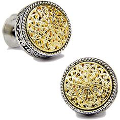 Sibada Men's Gilded Luxury and Royal Round Shape Handmade Cufflinks http://astore.amazon.com/ahoy-20/detail/B00SD7N7Y8