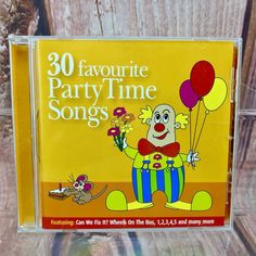 30 Favourite Party Time Songs CD Various Artists Music Kids Childrens party hols Cds For Sale, Wheels On The Bus, Music For Kids, Childrens Party, Various Artists, Party Time, Songs, Ebay, Song Books