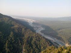 Sharda River view