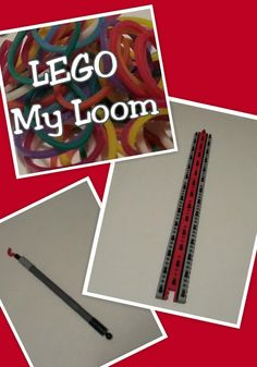 AWESOME MUST SEE VIDEO TUTORIAL LEGO My Loom,  DIY Video Tutorial on how to create a rubber band loom out of LEGO bricks. Building LEGOS with Christ