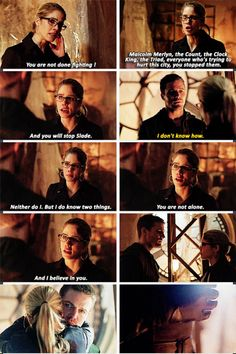 Olicity. I will go down with this ship!
