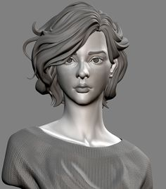 ArtStation - Portrait of Lelianna, DIXING SUN