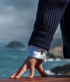 Gold plated cufflinks - Personalized cufflinks - White shirt - Men accessories