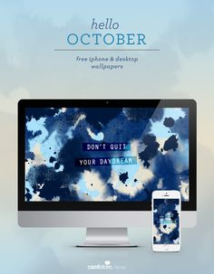 Download your free October 2015 wallpaper, and stop back on the first of every month to get your new, free background and iPhone wallpaper.