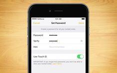 iPhone Notlar uygulamasındaki Şifre Sıfırlama yöntemi